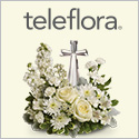 Teleflora. Send your condolences. Beautifully
